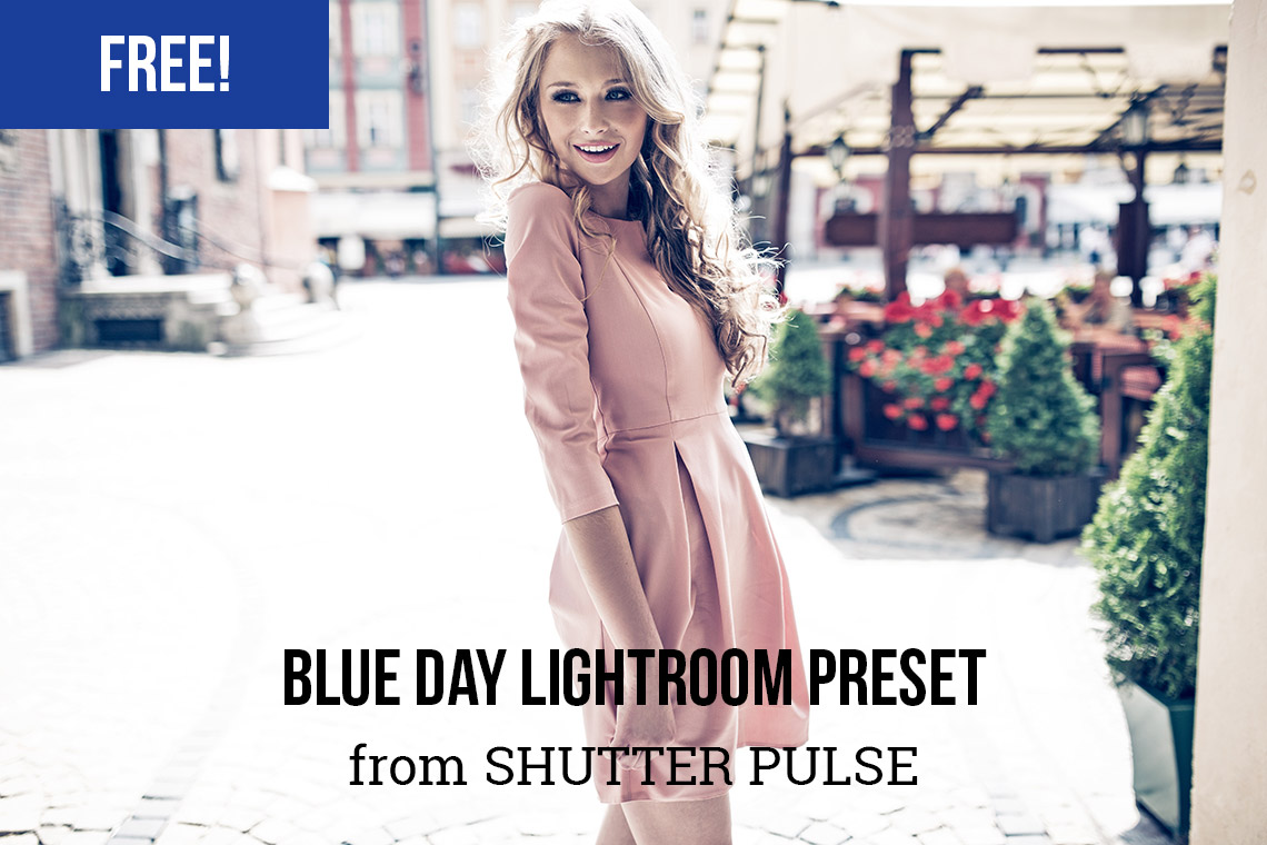 Free Blue Day Lightroom Preset