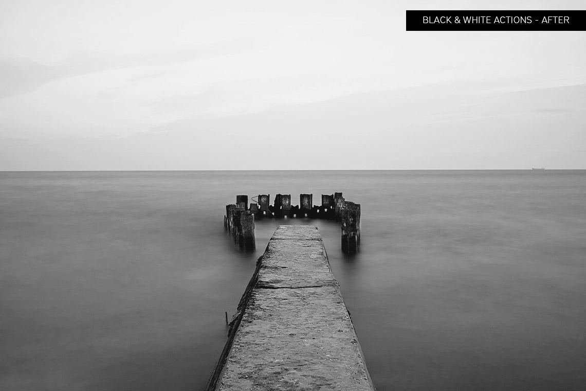 Black & White Photoshop Actions