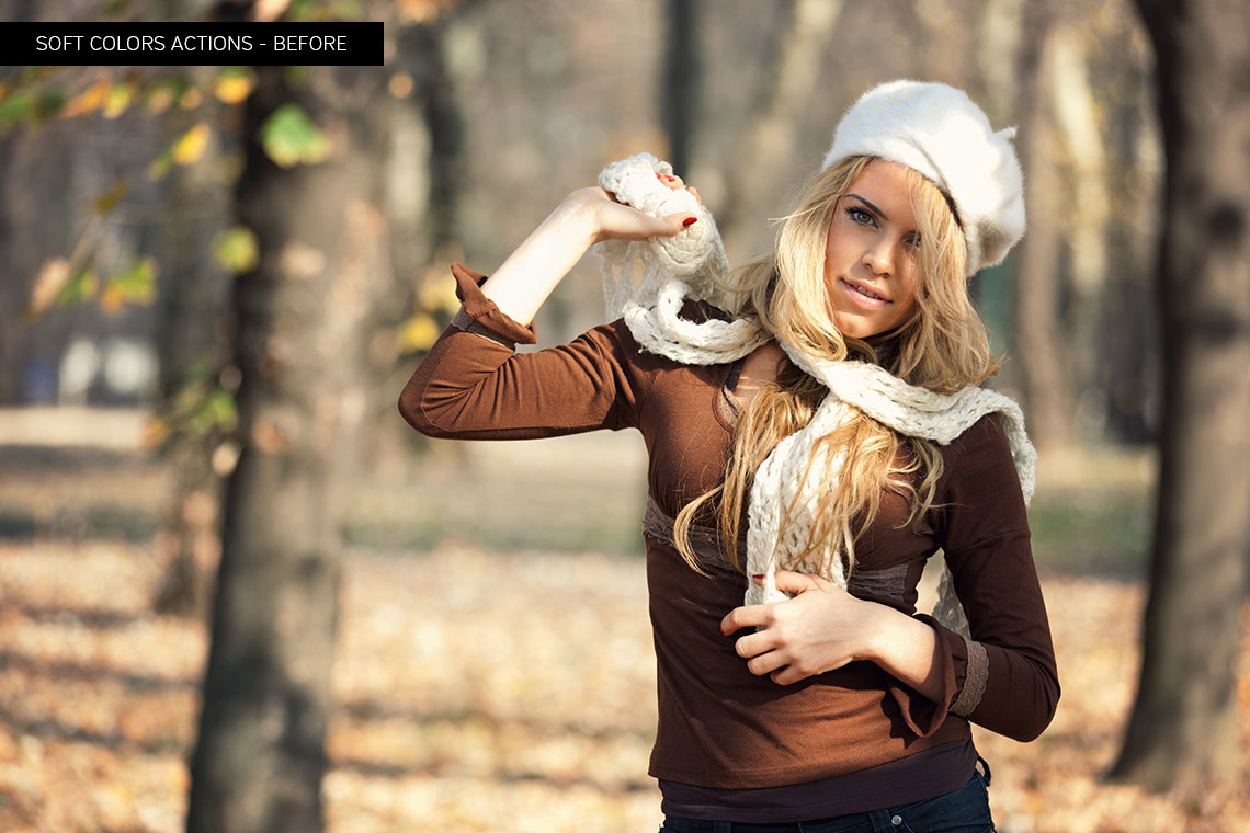 Soft Colors Photoshop Actions