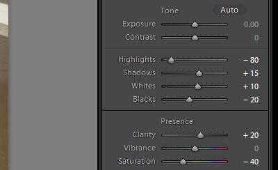 How to Customize Lightroom Presets