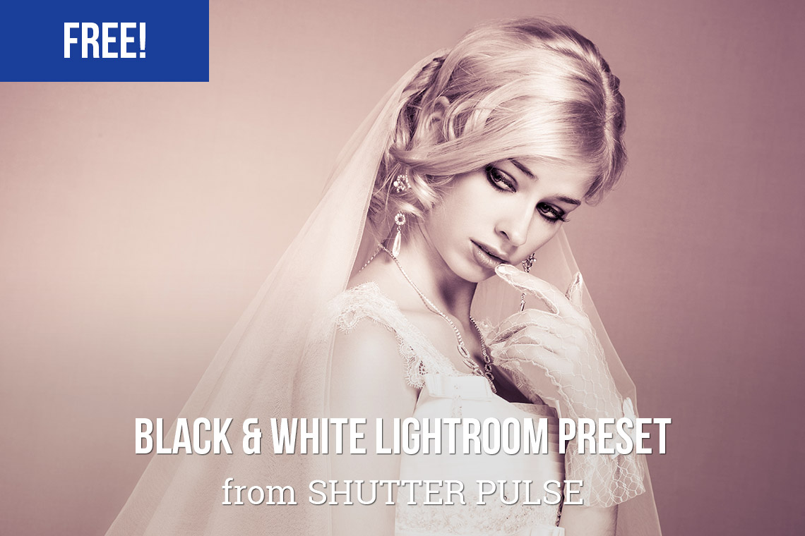 Free Black & White Lightroom Preset