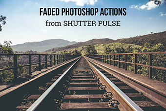 Faded Photoshop Actions