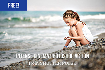 Intense Cinema Photoshop Action