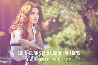Light Leaks Photoshop Actions