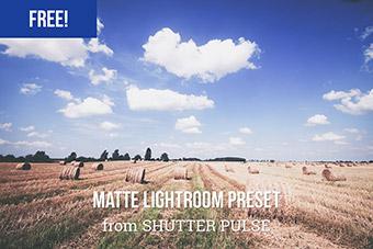 Washed Out Matte Lightroom Preset