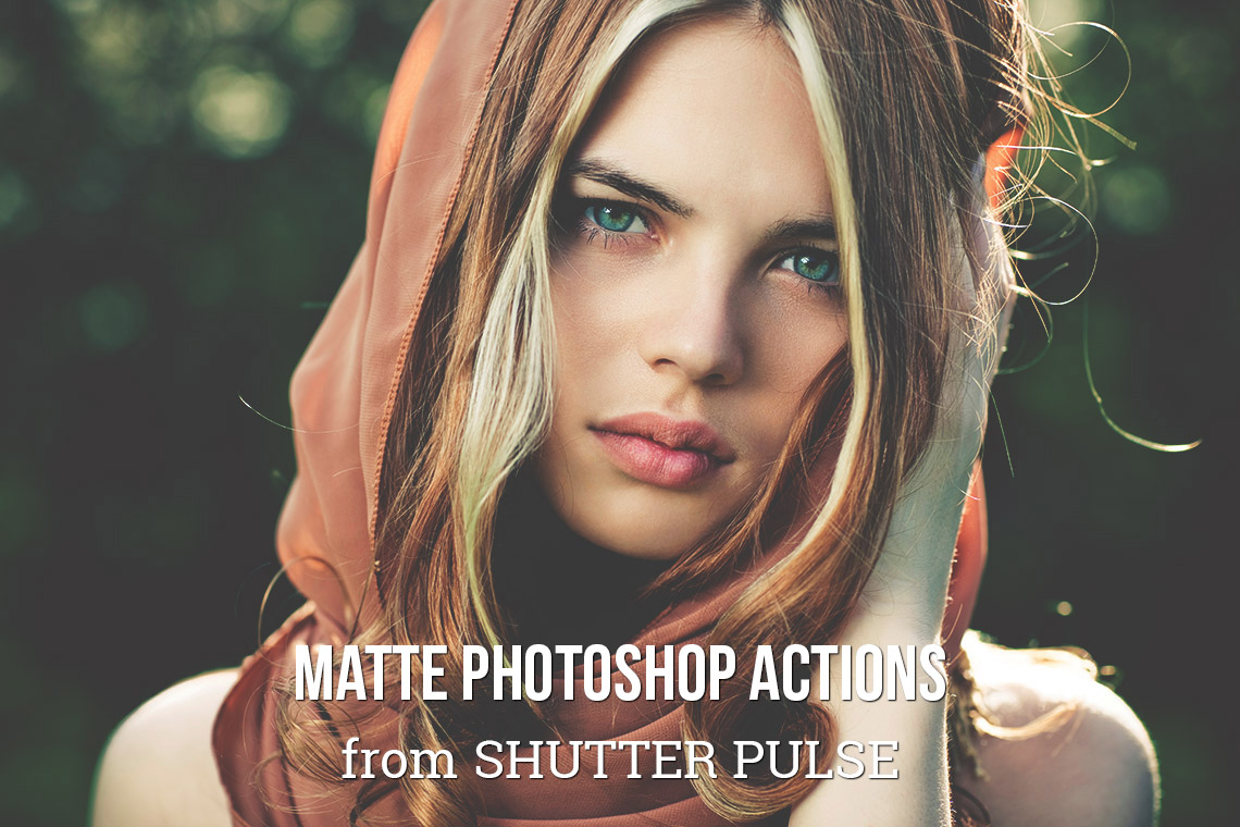 Matte Photoshop Actions
