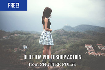 Old Film Photoshop Actio