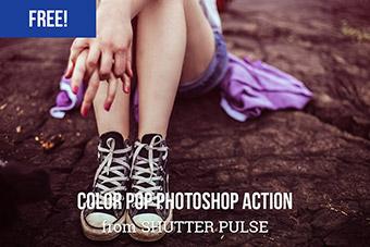 Color Pop Photoshop Action