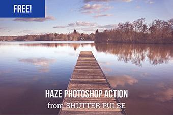 Haze Photoshop Action