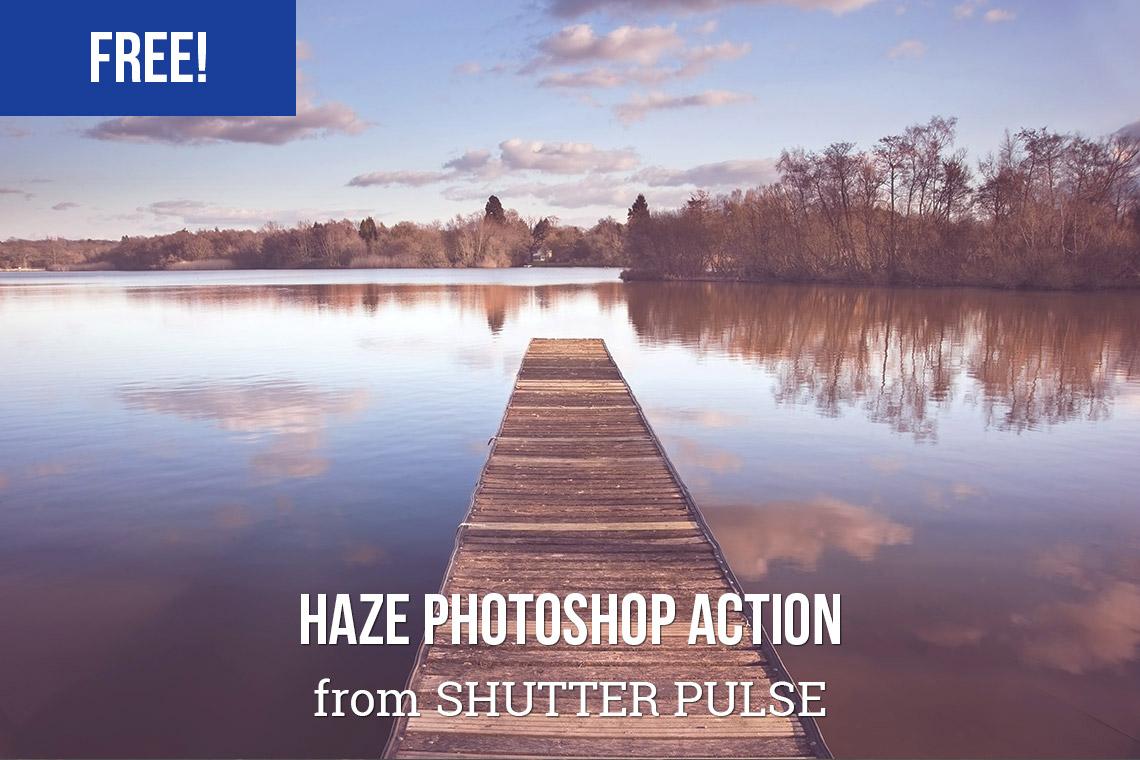 Free Haze Photoshop Action