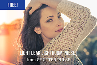 Red Light Leak Lightroom Preset