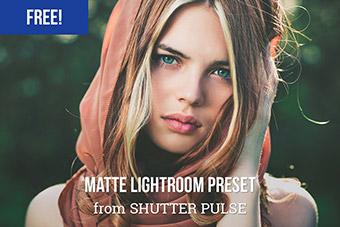 Matte Lightroom Preset