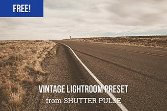 Washed Vintage Lightroom Preset