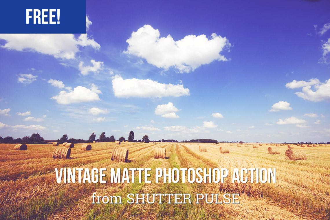 Free Vintage Matte Photoshop Effect
