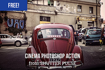 Warm Cinema Photoshop Action
