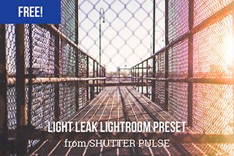 Warm Light Leak Lightroom Preset