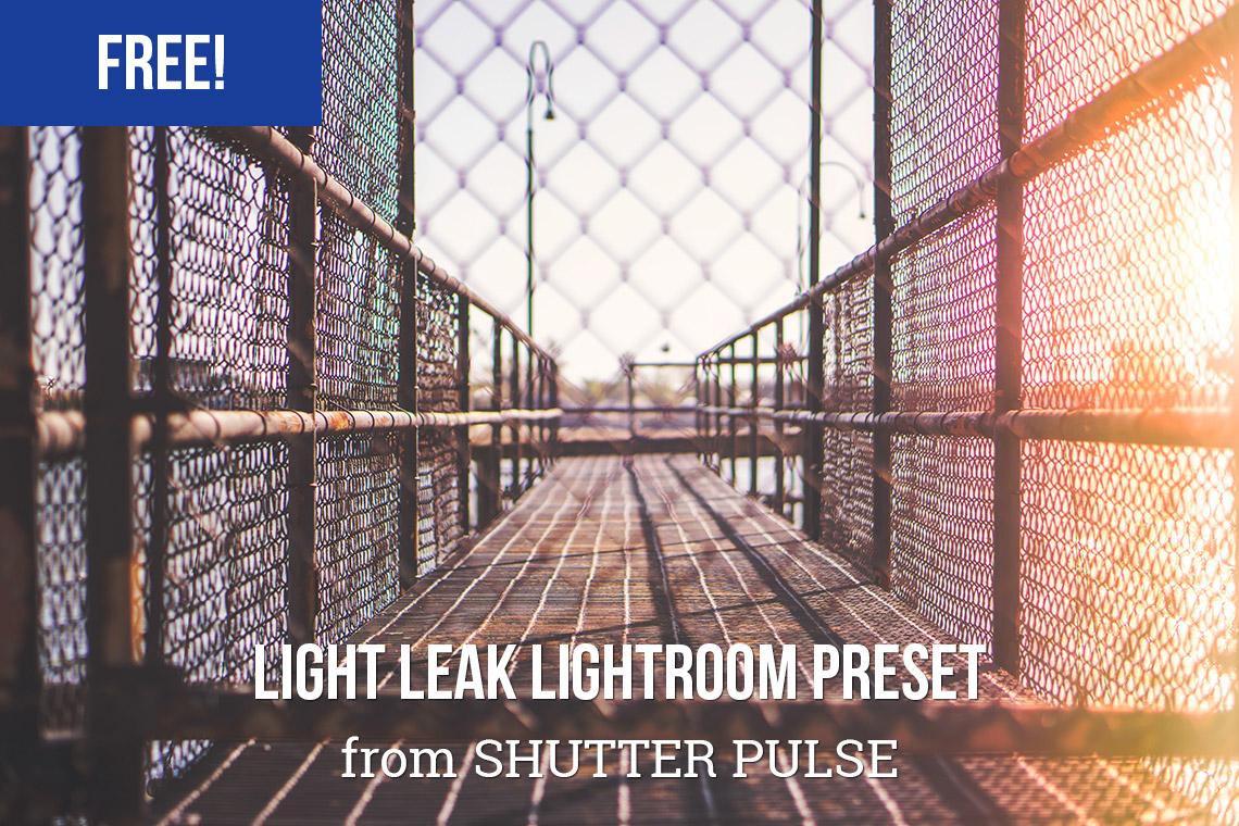 Free Light Leak Lightroom Preset