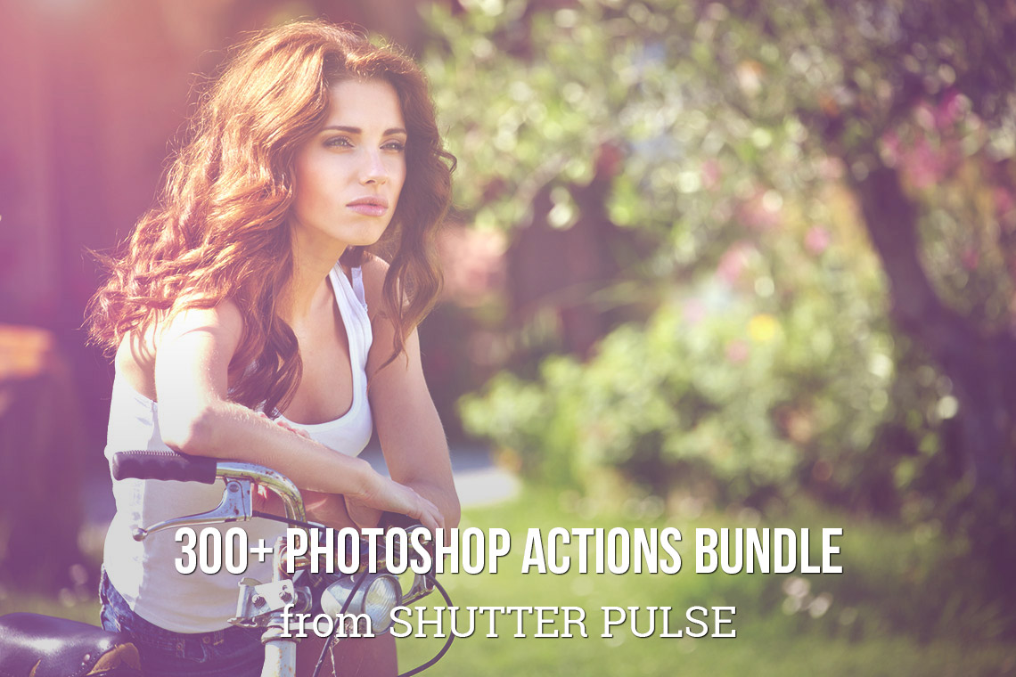 300+ Photoshop Actions