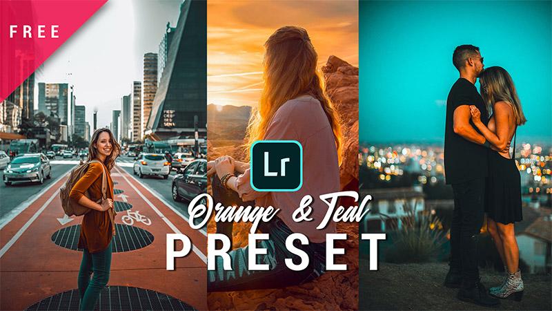 Orange & Teal Lightroom Preset